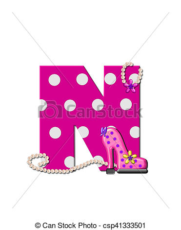 Diving clipart diva Of N Shoe N Alphabet