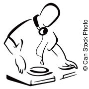 DJ clipart Clipart playing Dj collection clipart