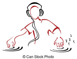 DJ clipart Illustrations Dj 676 clipart collection