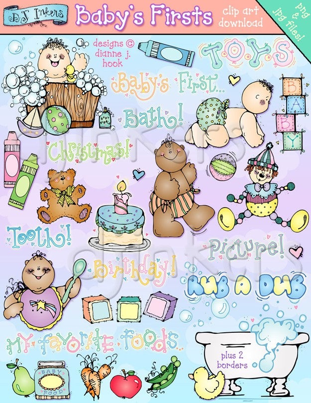 DJ clipart baby Baby DJ Clip Firsts Clip