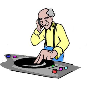 DJ clipart disc jockey Download Free Disc on Clipart