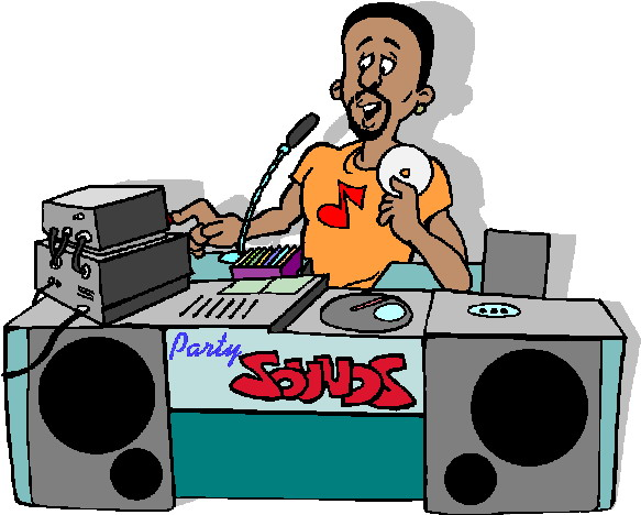 DJ clipart disc jockey Disc Collection Disc dj Clipart