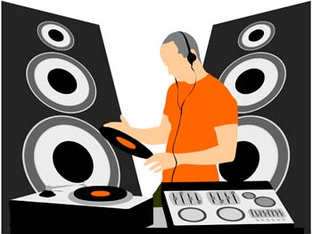 DJ clipart disc jockey Jockey Clip Disc Clipart Clip
