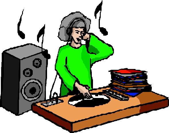 DJ clipart dj mixer Clip The DJ Art clipart