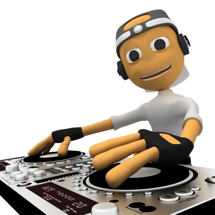 DJ clipart funny Clip Cartoon  Clip Clipart