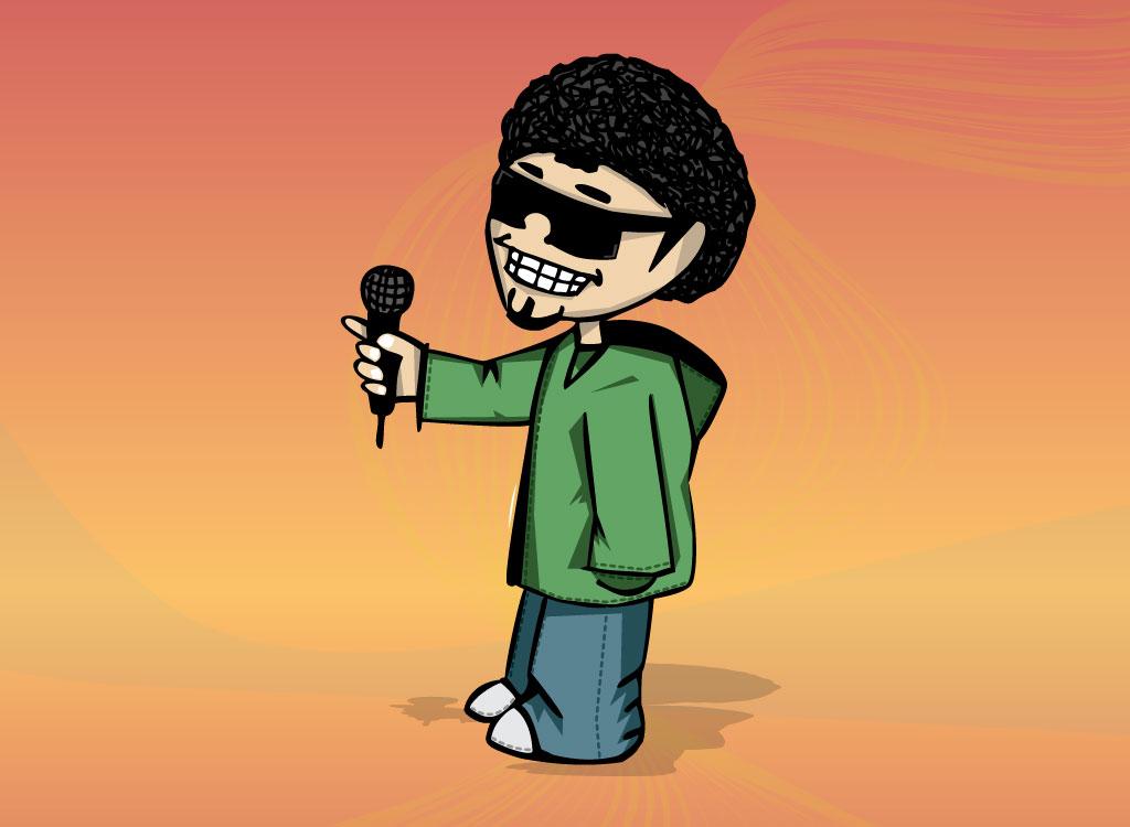DJ clipart hip hop Cartoon Free Clip Characters DJ