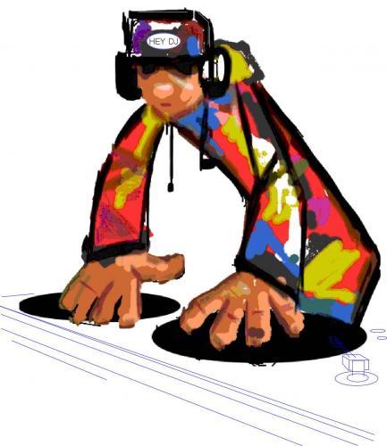DJ clipart hip hop Culture Free Cartoon Free Cartoon