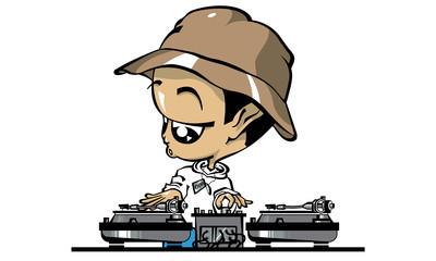 DJ clipart hip hop – Hennessey Allstar! The DJ
