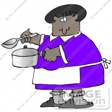 DJ clipart lady Cooking Black Clipart clipart Free