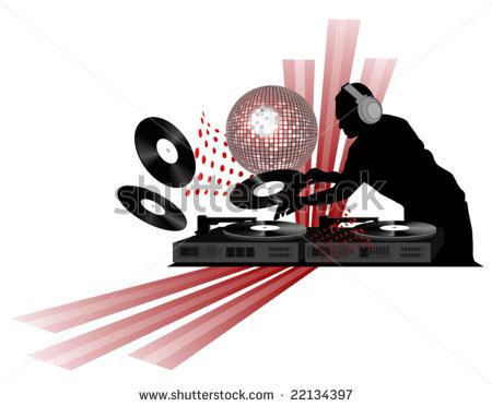 DJ clipart silhouette SONU HulkShare DJ DJ gayi