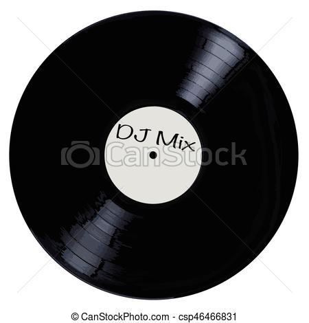 DJ clipart the mix Mix typical A vinyl White
