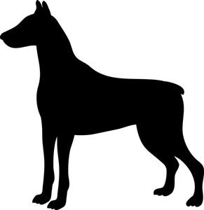 Doberman Pinscher clipart Pinscher Breed Dog Pinscher Breed