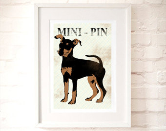 Miniature Pinscher clipart mini #2