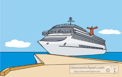 Boat clipart cruise ship Cruise kid clipart ship ship