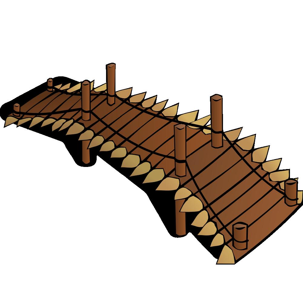 Bridge clipart water clipart Symbols: Wooden RPG Map OnlineLabels