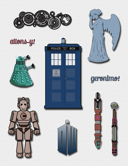 Doctor Who clipart #13