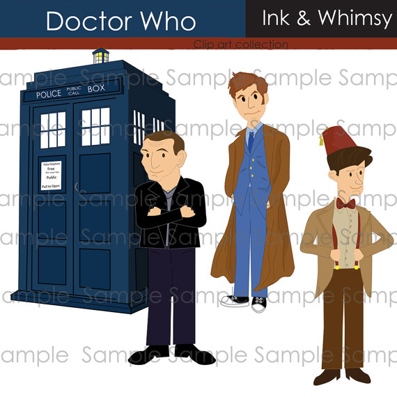 Doctor Who clipart 11th Clip Art  Clipart Doctor