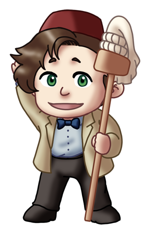 Doctor Who clipart 11th On Doctor by TwinEnigma 11th
