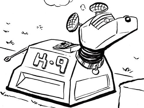 Doctor Who clipart k 9 Through Who' Andy an 'Doctor