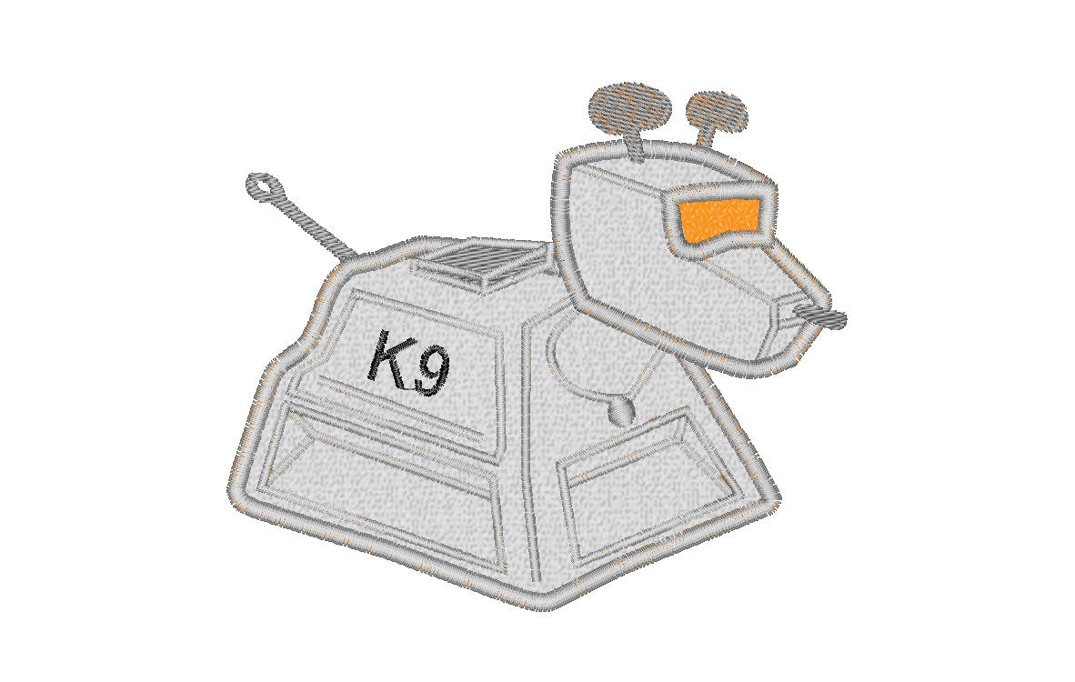 Doctor Who clipart k 9 Who K9 FREE Robot INSTANT