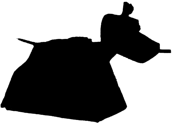 Doctor Who clipart k 9 Outline Doodlecraft: Silhouette Mania!
