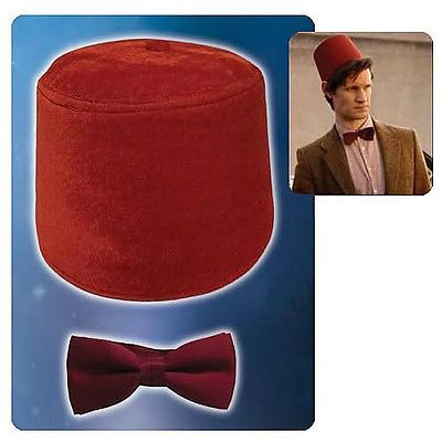 Doctor Who clipart red fez COOL Red ❤ Costume TIE