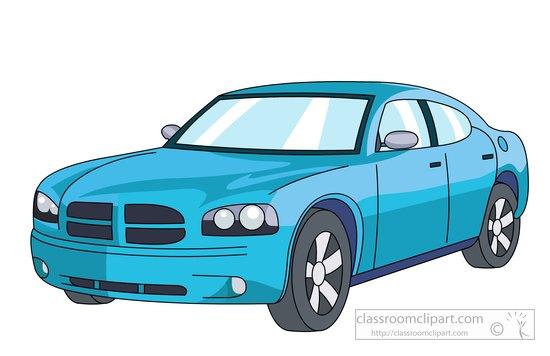 Dodge clipart Blue charger automobile 51 Search