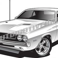 Dodge clipart black and white Clipart Clipart com Car clipartpig