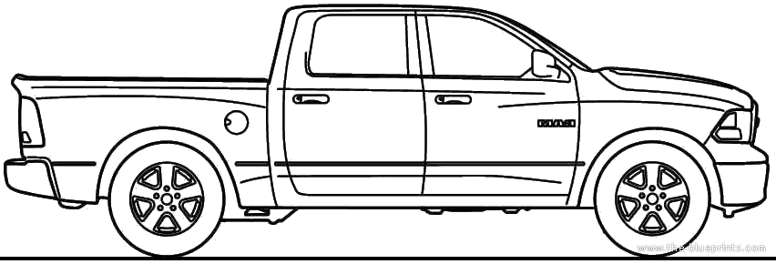 Dodge clipart dodge ram Blueprints 1500 1500 > >