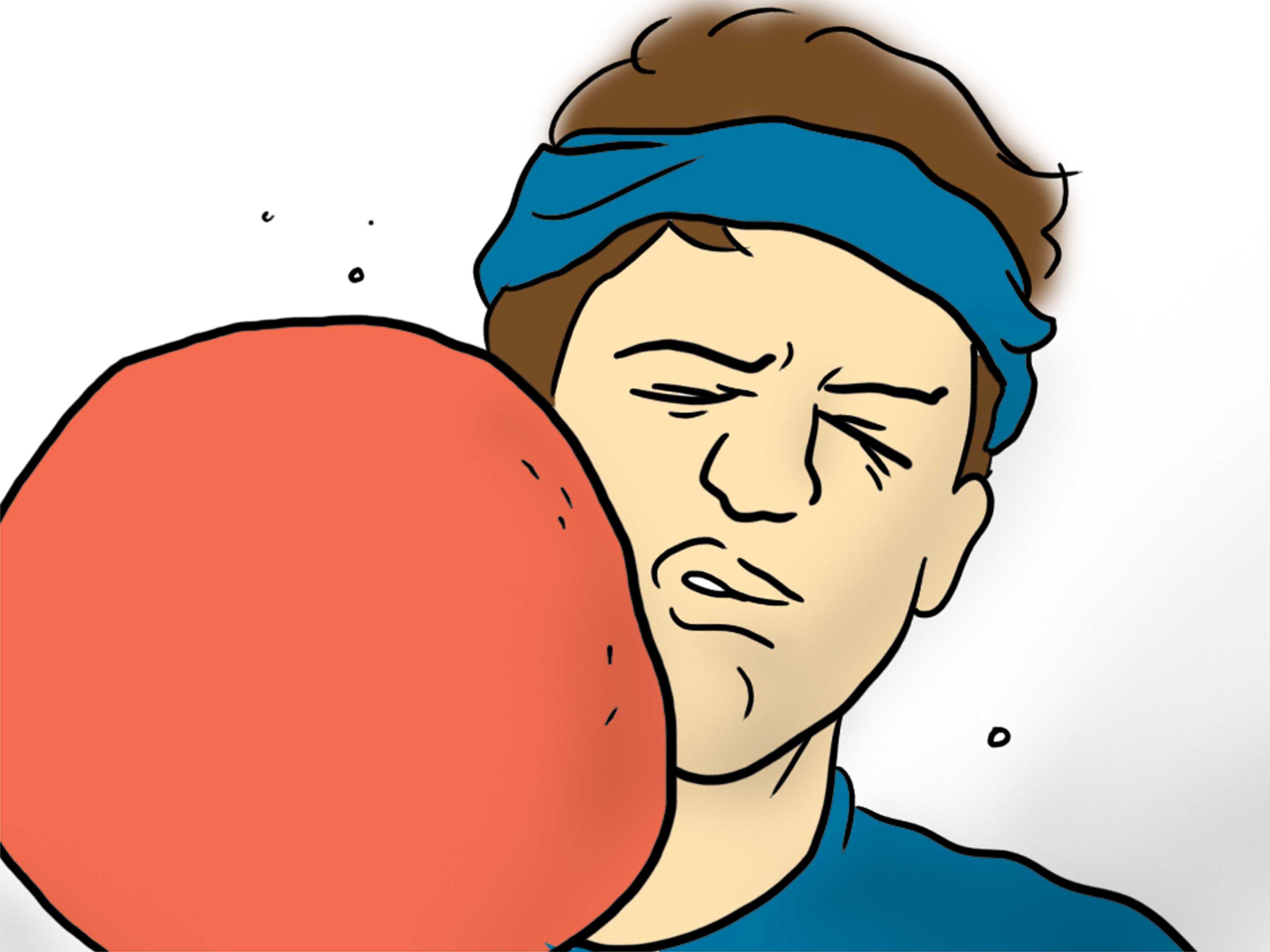 Dodge clipart dodgeball player A 11 Player: How (with