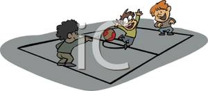 Dodge clipart dodgeball player Playing Dodgeball Clipart Playing Free
