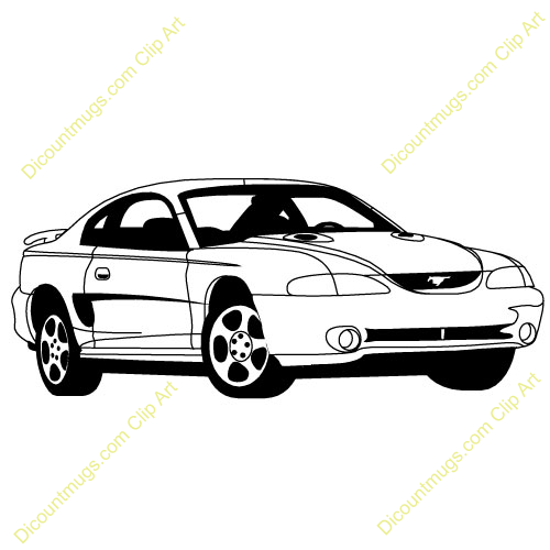 Dodge clipart mustang car Clipart  Mustang Clipart Mustang