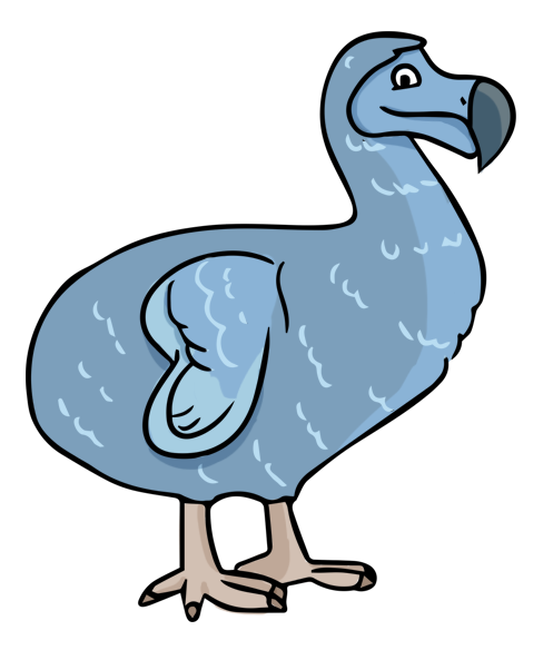Extinct clipart #2