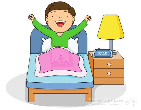 Morning clipart despertarse #1