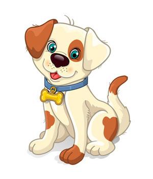 Dog clipart Cartoon Art Dog Dog Art