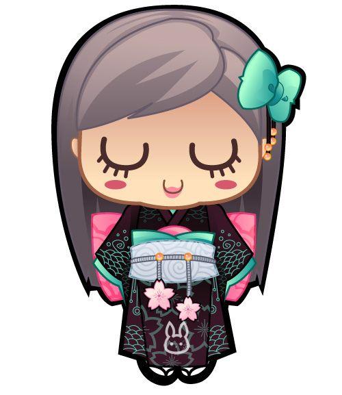 Doll clipart inspired Freshcharacters Inspired http://www D Kokeshi