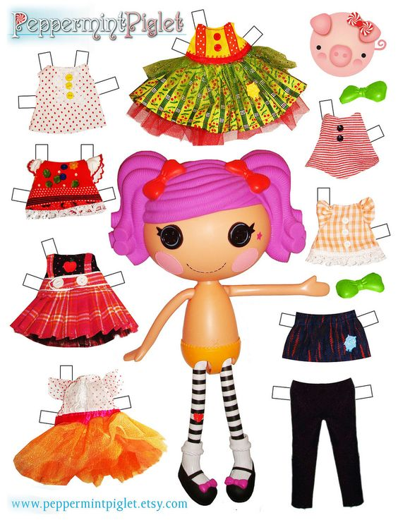 Doll clipart loopsy Loopsy kids for printable paper