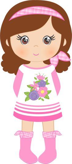 Doll clipart shabby Colores Shabby Chic de B