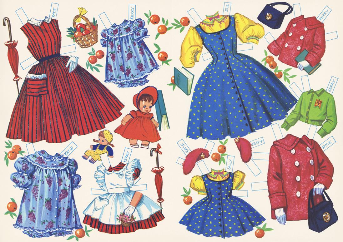 Doll clipart six 6 Missy Paper Miss 16