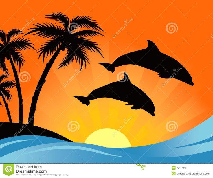 Ocean clipart ocean sunset Best Search ocean palm Tattoos