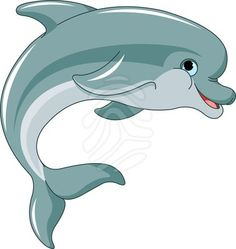 Seahorse clipart cute baby dolphin #13