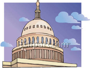 Dome clipart town council Of Capital Royalty Picture of