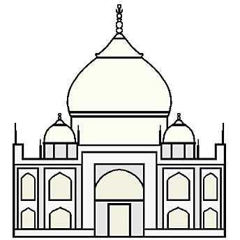 Dome clipart arch Arches Taj Explore at the