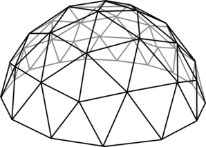 Dome clipart black and white #10