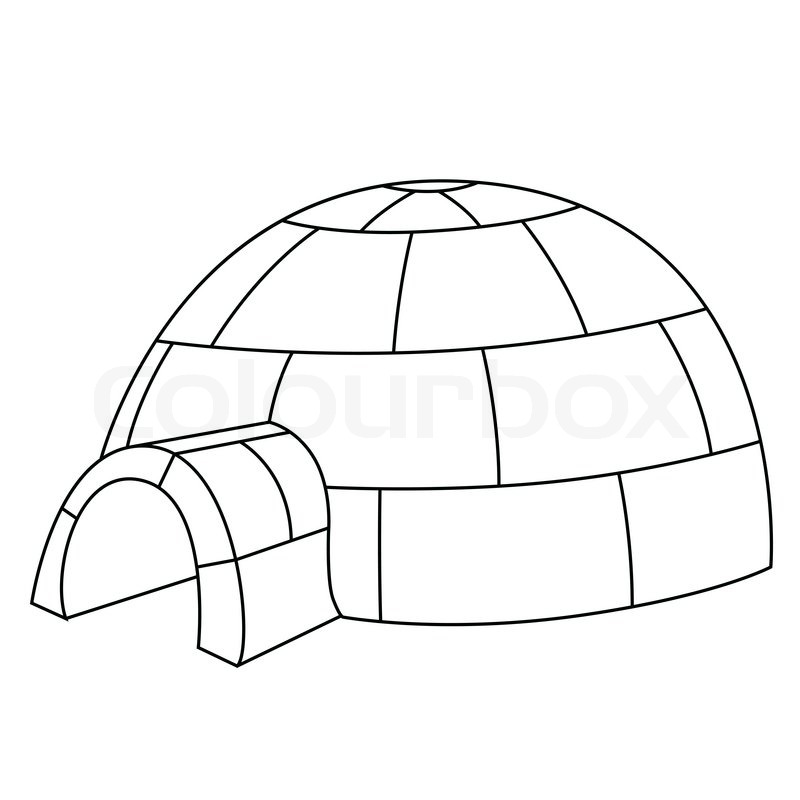 Dome clipart black and white #12