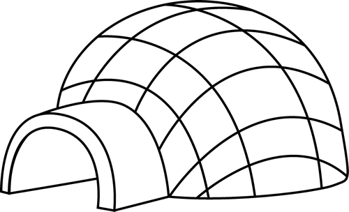 Dome clipart black and white #13