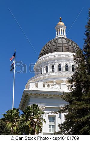 Dome clipart california Of California capitol Dome state