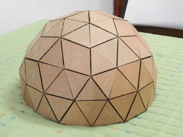 Dome clipart geodescent Scale on Geodesic a to