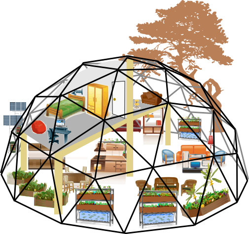 Dome clipart geodesic #11