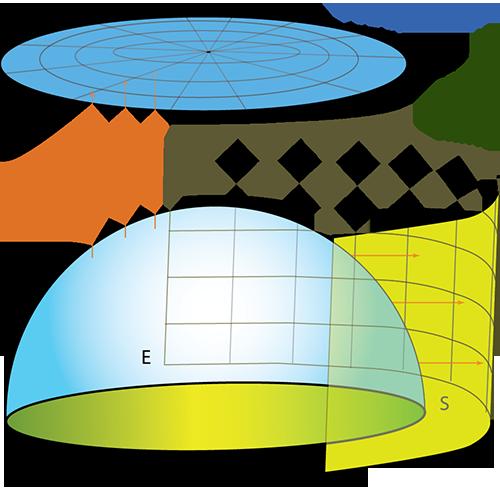 Dome clipart hemispherical #14